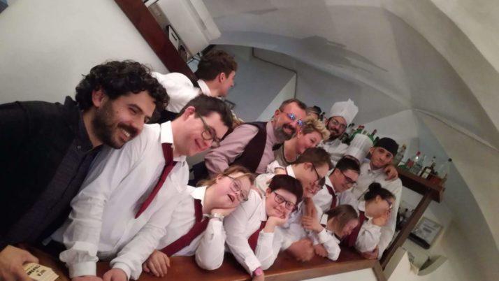 """Il pranzo del Sorriso al ristorante """"Tinello"""""""