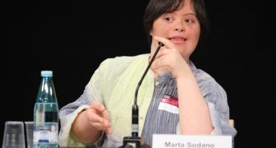 Conferenza mondiale del World Down Syndrome Day alle Nazione Unite di New York