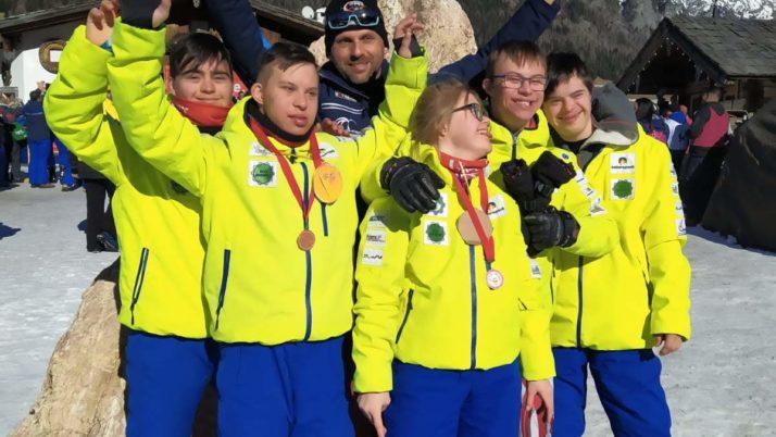 Special Olympics a Sappada
